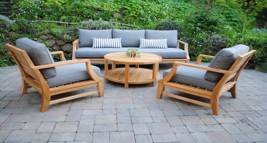 Beau Deep Seating Teak Furniture Outdoor ...