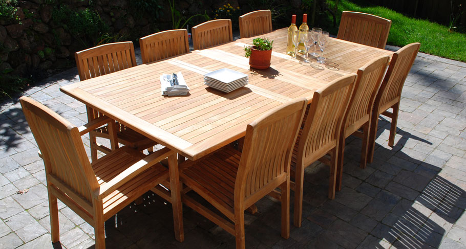 Deep Seating Teak Furniture Outdoor Table