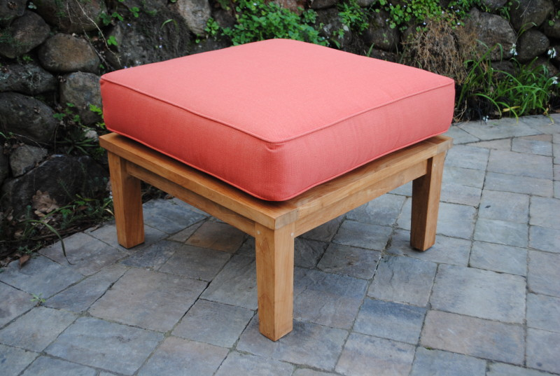 Sonoma Deep Seating Ottoman with Sunbrella Cushion