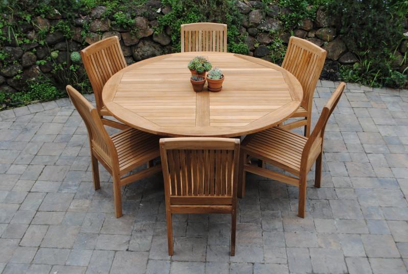 5′ Round Fixed Table