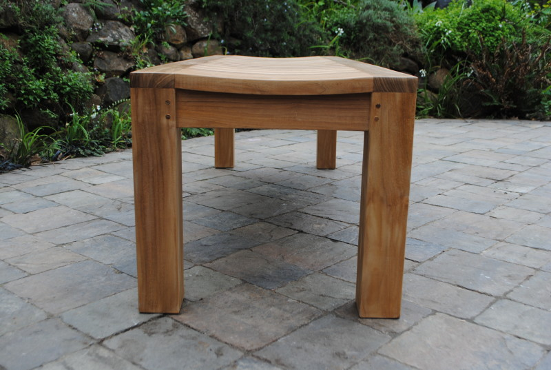 5 6 Backless Garden Bench Paradise Teak