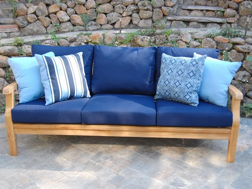 Deep Seating Sofa. Teak Furniture San Leandro, ...