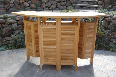 Foldable Bar Paradise Teak