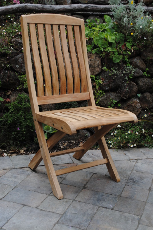 Yountville Folding Side Chair
