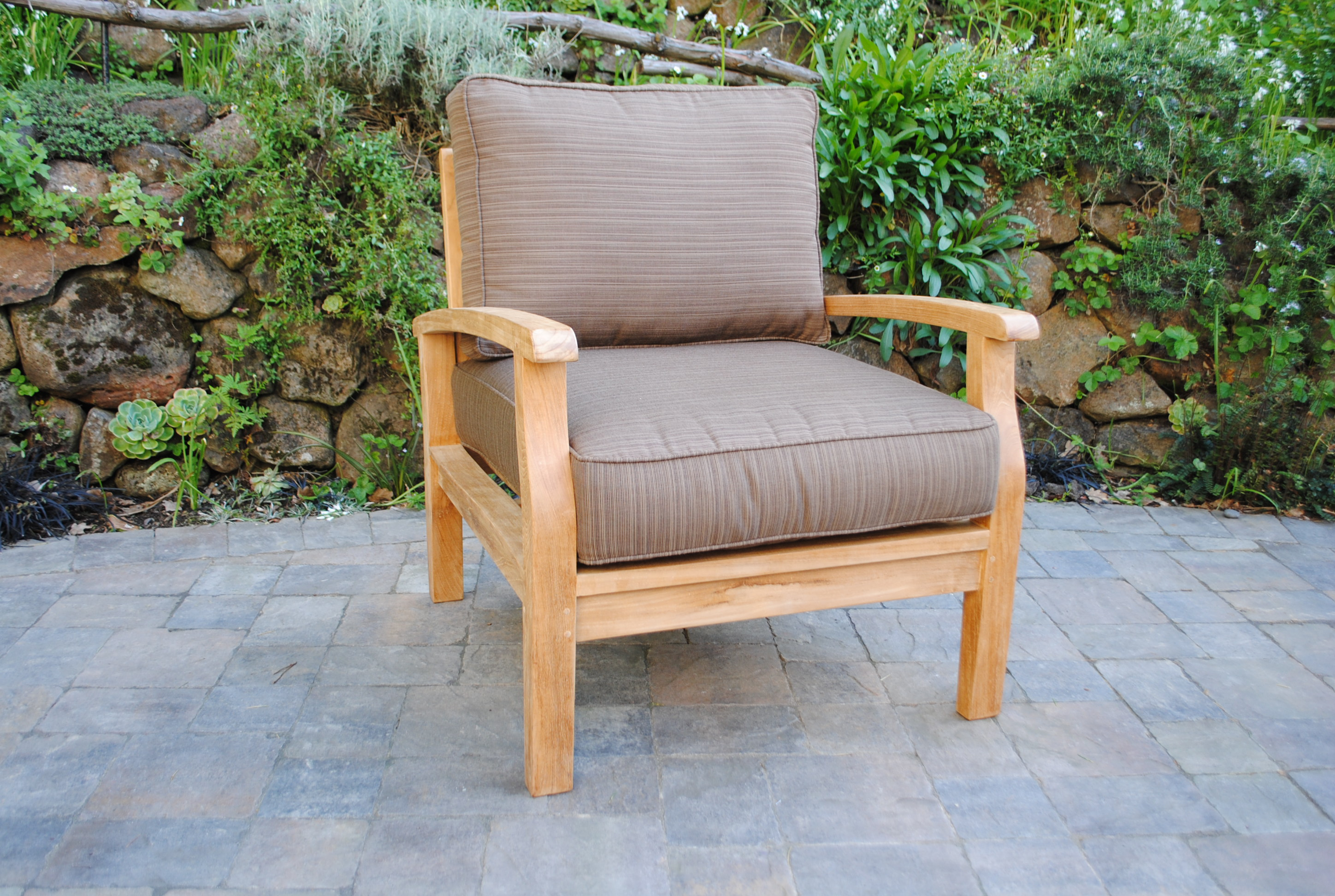 Sonoma Deep Seating Lounge Chair with Sunbrella Cushions