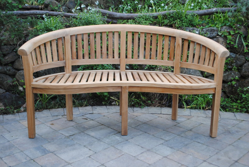 5′ Curved San Francisco Bench