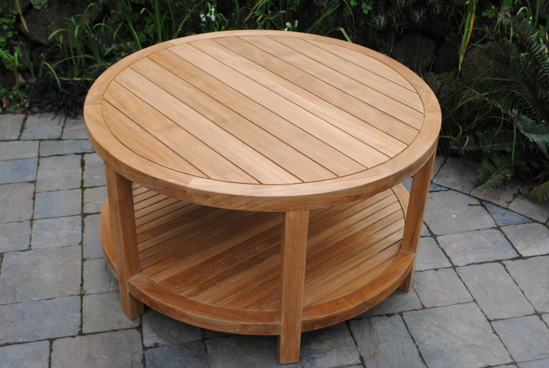 Capitola Round Coffee Table Paradise Teak
