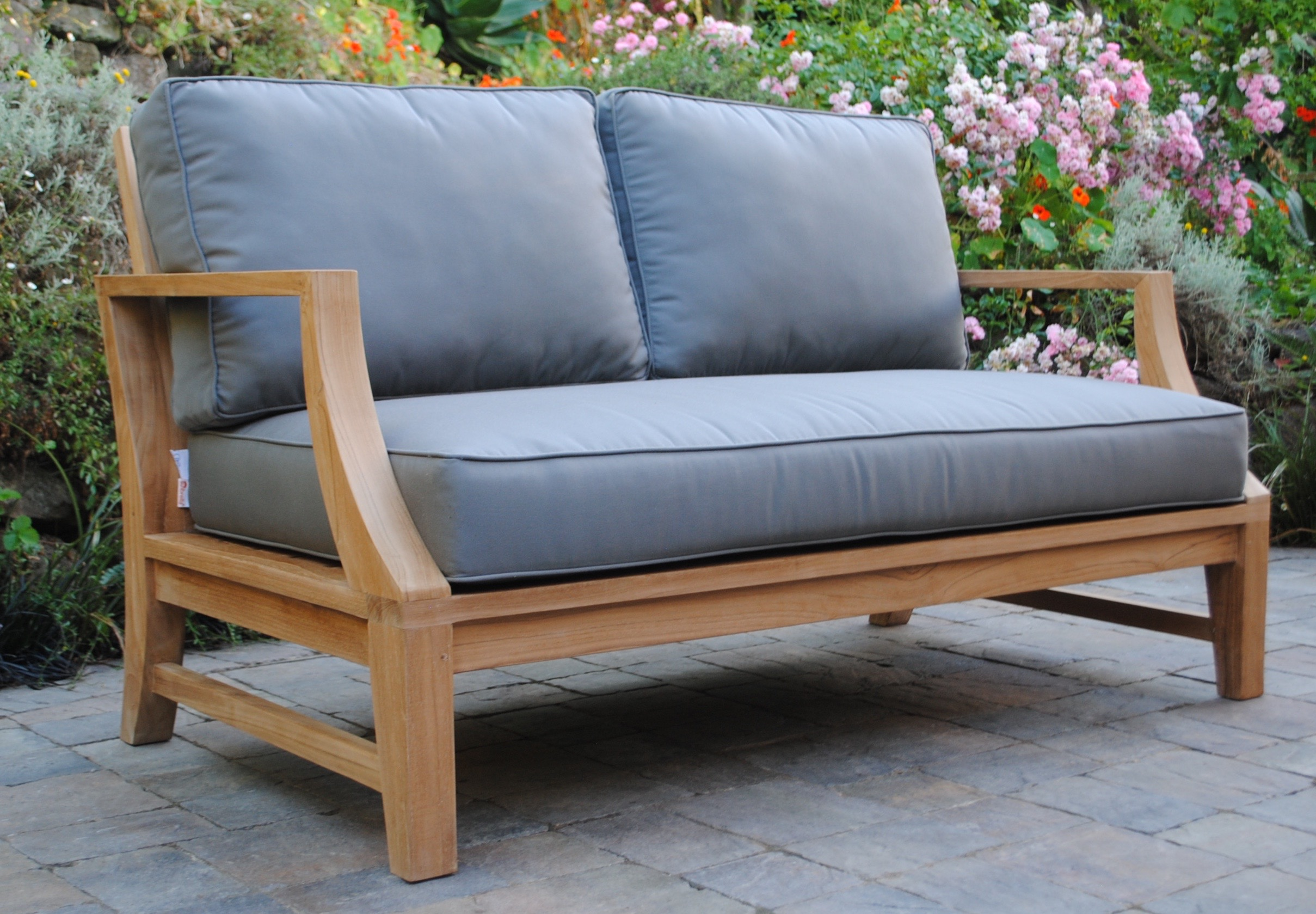 Capitola Loveseat with Sunbrella Cushions